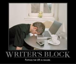 Writers Block is the New Life Block
